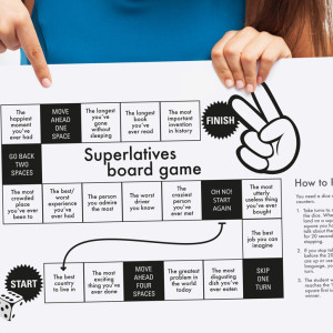 Girl Superlative board game upload