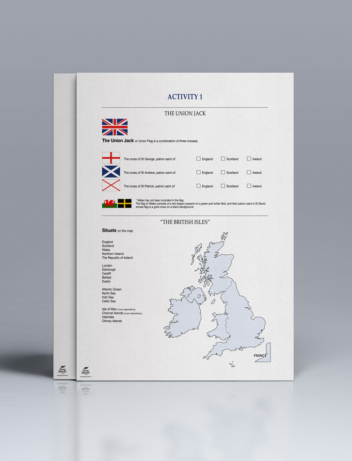 Worksheet Union Jack