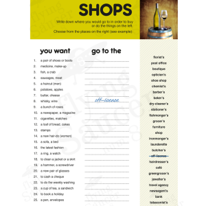 worksheet-vocabulary-shops-2