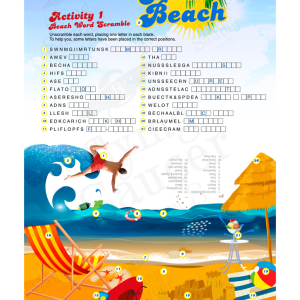worksheet-wordscramble-at_the_beach-front-2